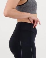 K-Way Pulse Women's 6 Inch Tights -  black