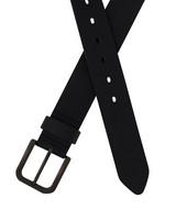 Old Khaki Men's Ranger Worn Leather Belt -  black