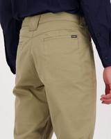 K-Way Elements Men's Travel Chino Extended Size Range -  khaki