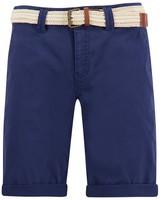 Old Khaki Women's Callia Belted Shorts -  navy