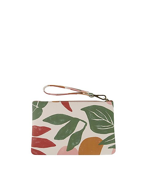Old Khaki Women's Ayla Printed PU Pouch -  assorted