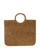 Old Khaki Women's Samaara Straw Tassel Bag -  oatmeal
