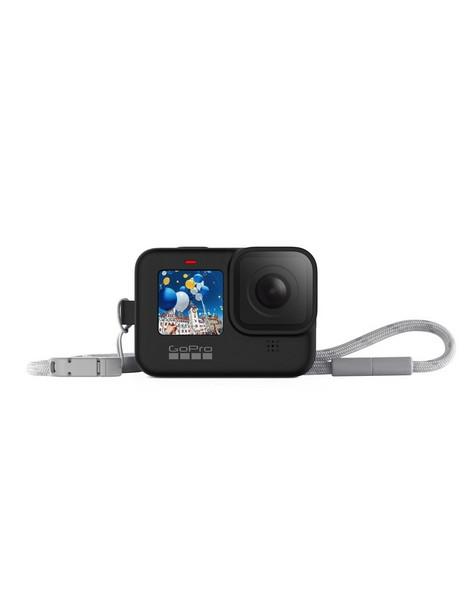 GoPro Hero 9 Sleeve + Lanyard -  black
