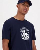 Old Khaki Men's Byron T-Shirt -  navy