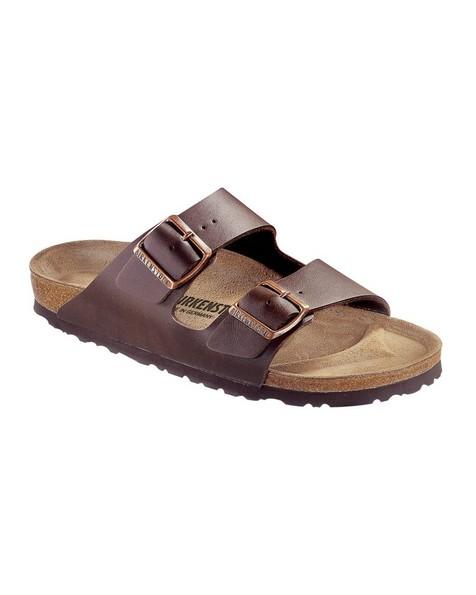 Birkenstock Men's Arizona Birko-Flor® Sandal -  chocolate