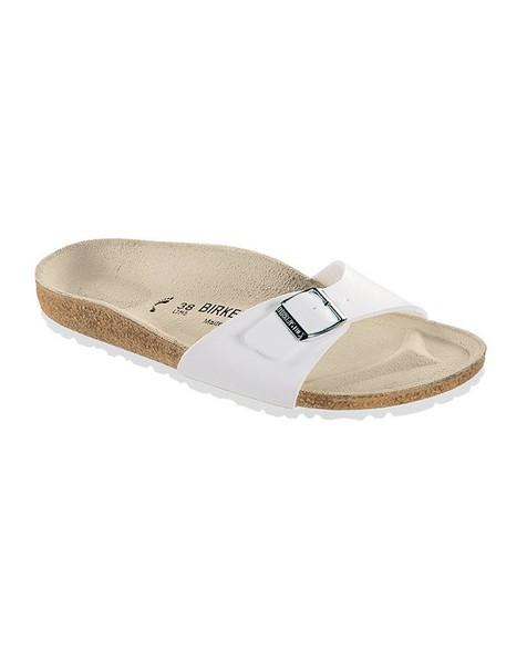 Birkenstock Women's Madrid Birko-Flor® Sandal -  white