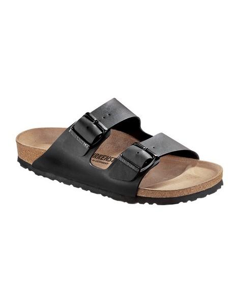 Birkenstock Women's Arizona Birko-Flor® Sandal -  black
