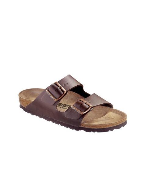 Birkenstock Women's Arizona Birko-Flor® Sandal -  chocolate
