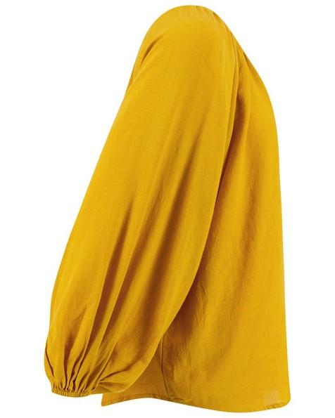Old Khaki Women's Halsey Peasant Blouse -  ochre