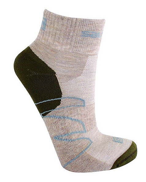 Salomon Women's Crossover Outdoor Sock -  lightkhaki