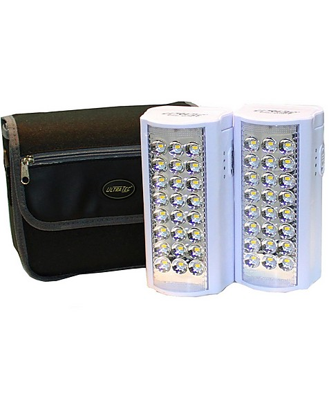 Ultratec Back-Up 800 Lumen Led Lantern with Power Bank Twin Pack -  nocolour