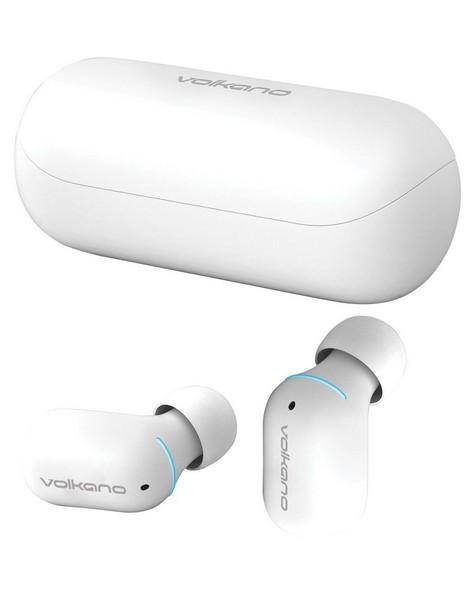 Volkano Capricorn Series True Wireless Earphones -  white