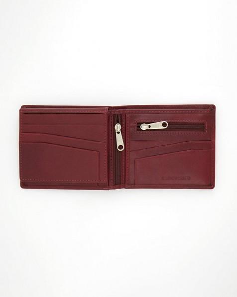 K-Way Elements Men's Monaco Wallet -  oxblood
