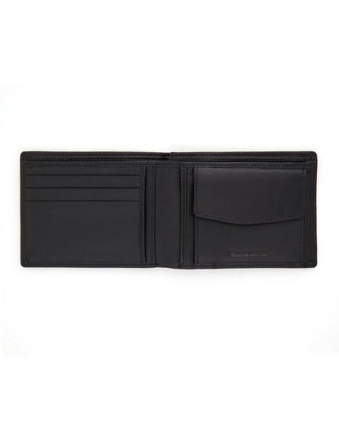 K-Way Elements Men's Seattle Wallet -  black