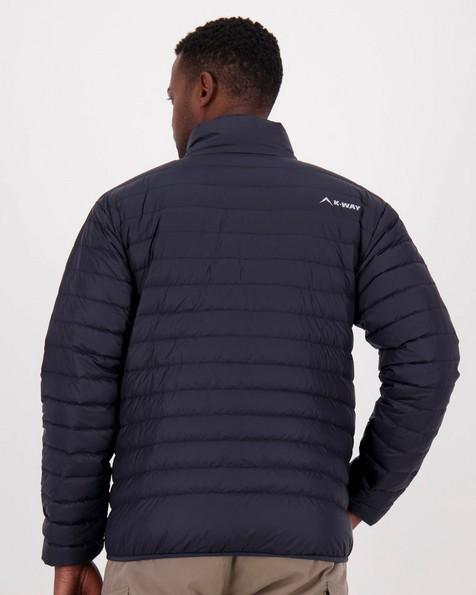 K-Way Men's K-Lite Down Jacket -  black
