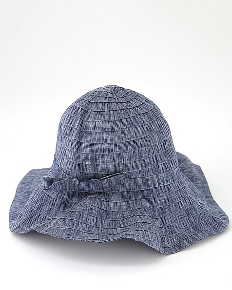 Rare Earth Women's Carisa Taped & Wired Bucket Hat -  blue