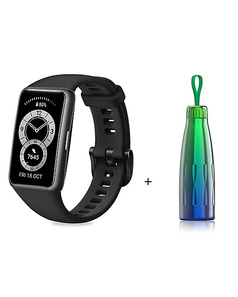 Huawei Band 6 Activity Tracker with Thermos -  black