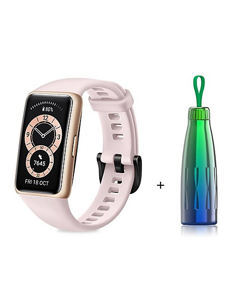 Huawei Band 6 Activity Tracker with Thermos -  pink