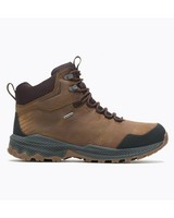 Merrell Men's Forestbound Mid WP Hiking Boot -  brown