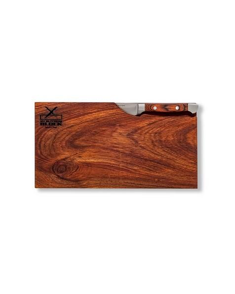 My Butcher's Block Biltong Board and Biltong Knife -  brown