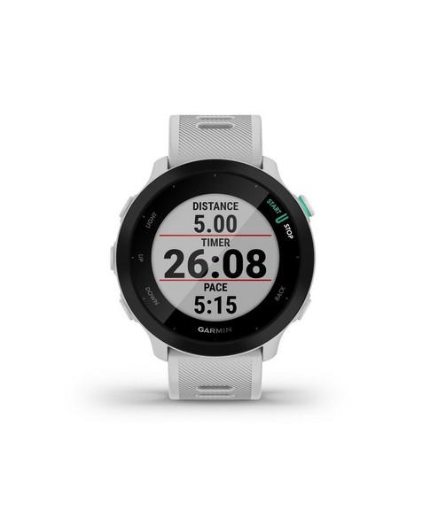 Garmin Forerunner® 55 Running Smartwatch -  white