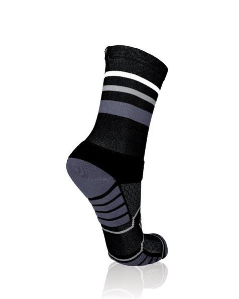 Versus Trail Running Socks -  black
