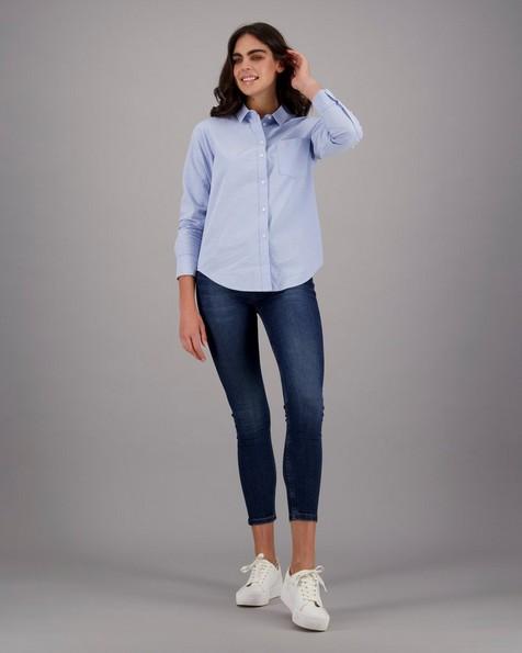Old Khaki Women's Kathy Shirt -  blue
