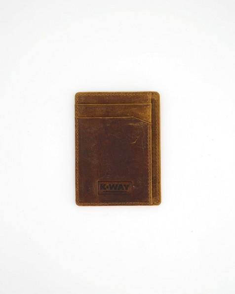 K-Way Elements Men's Lagos Wallet -  brown