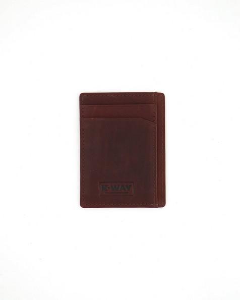 K-Way Elements Men's Lagos Wallet -  chocolate
