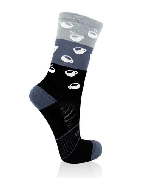 VERSUS Coffee Performance Active Sock -  grey