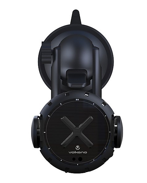 Volkano Ignition Series Motorised 15W Car Wireless Charge Kit -  black