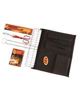 LK's Braai Set and Canvas Bag -  nocolour