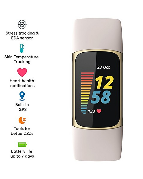 Fitbit Charge 5 -  white