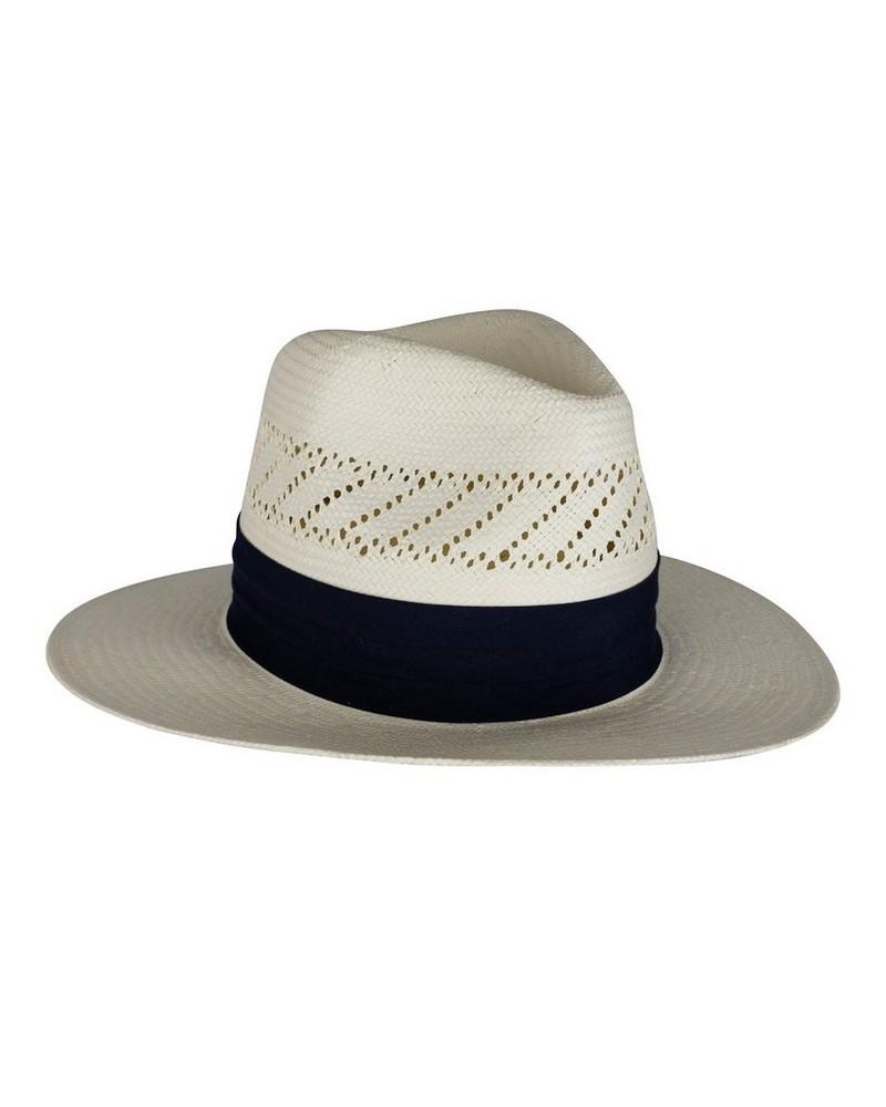 Cape Union Men's Guido Straw Hat -  cream