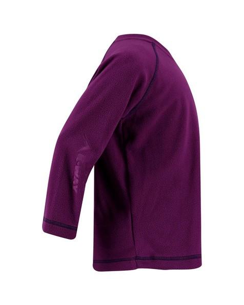 K-Way Hawk Kids Crewneck Fleece -  purple-navy