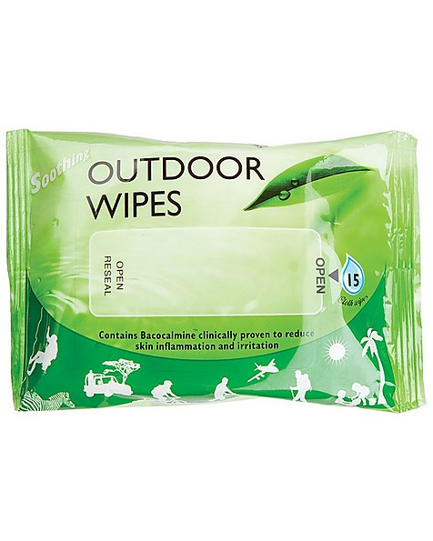 Busby Outdoor Wipes 15 -  nocolour