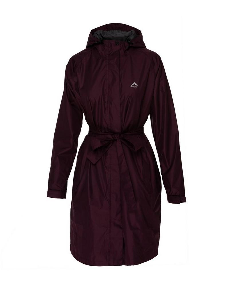K-Way Women's Austru Rain Coat -  grape