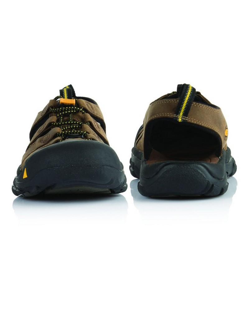 Keen Newport Leather Sandal Mens -  brown