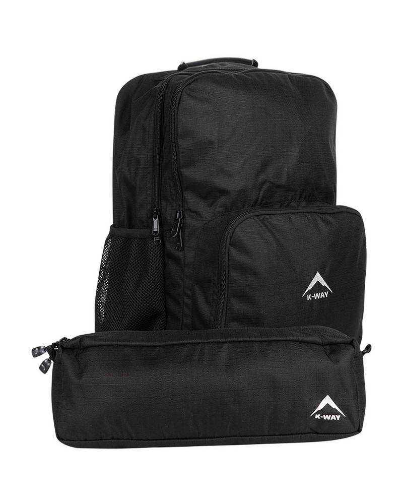 K-Way School Daypack -  black