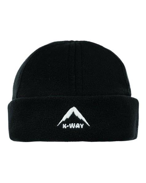 K-Way Unisex Fleece Beanie -  black