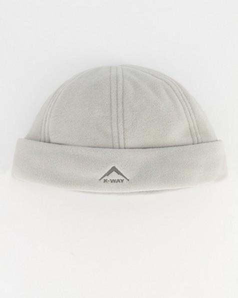 K-Way Unisex Fleece Beanie -  silver