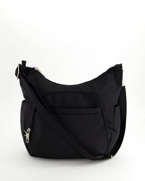 Travelon Antitheft Cross-Body Bag -  black