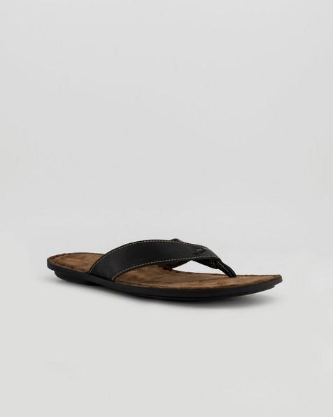 Tsonga Men's Tslops Thong Sandals -  black