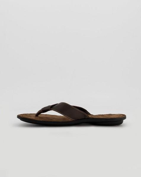 Tsonga Men's Tslops Thong Sandals -  chocolate