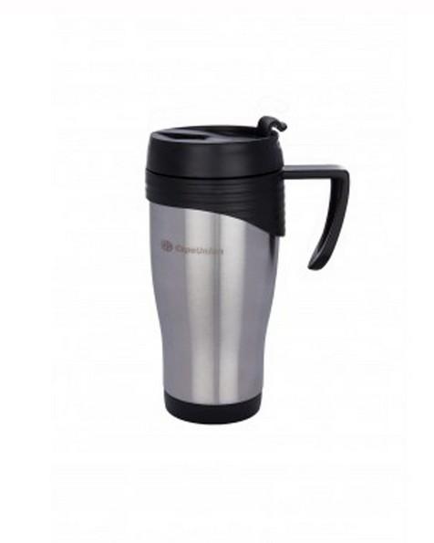 Cape Union 0.4L Lifestyle Travel Mug  -  lightgrey