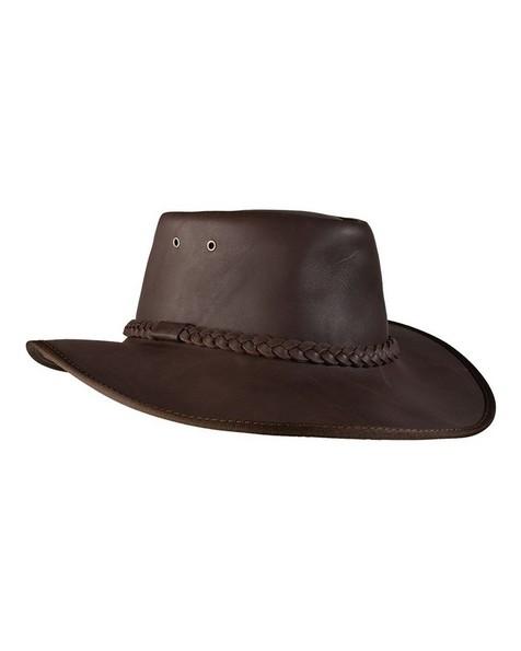 Cape Union Mart Survivor Leather Hat -  brown
