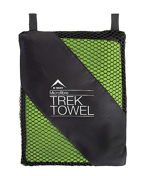 K-Way Trek Towel Large -  lime