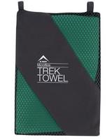 K-Way Microfibre Trek Towel (Extra-Large) -  bottlegreen-bottlegreen