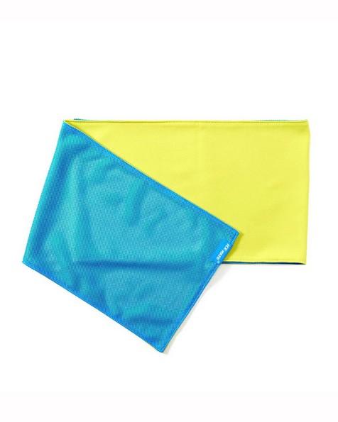 N-Rit Ice Mate Towel -  blue-lime