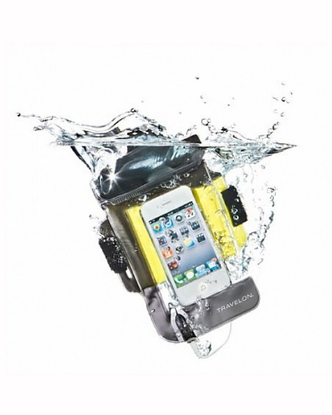 Travelon Waterproof Pouch for Smart Phones -  yellow